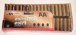 Kirkland Signature AA Alkaline Batteries 72 pk, 2+ Pack Pric