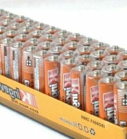 100 Pack AA Batteries 1.5v Wholesale Lot New Fresh