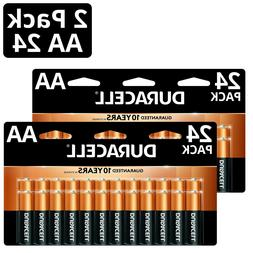 duracell AA  24 two pack 48 batteries