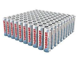 100pcs of Tenergy Premium AA 2500mAh High Capacity NiMH Rech
