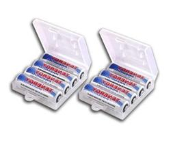 8 Pcs Tenergy Premium AA 2500mAh High Capacity NiMH Recharge