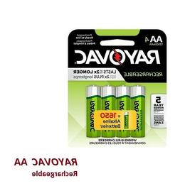 ===  Rayovac AA Rechargeable Batteries /  NiMH  ~ 4 Pack  ==
