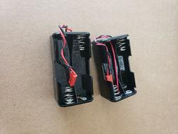 Aa reciever battery holder high quality small plug rc plane