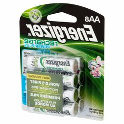 AA8 AA Energizer Rechargeable NiMH Batteries EXP 2021  2300m