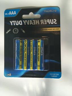AAA batteries , NEW, known as triple A, e-circuit brand, 1.5