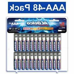 ACDelco AAA Super Alkaline Batteries, 48 Count