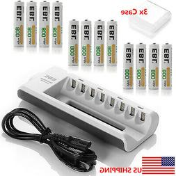 aaa ni mh rechargeable batteries