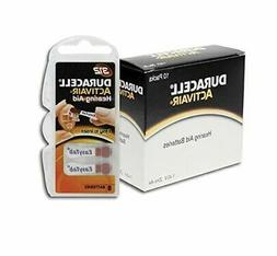 Duracell Activair Hearing Aid Batteries: Size 312