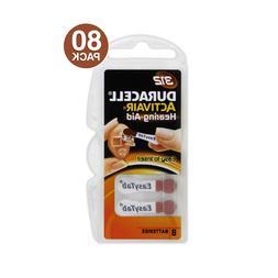 Duracell Activair Hearing Aid Batteries Size 312 - 80 Batter