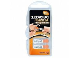 Duracell Activair Hearing Aid Batteries Size 13  3 year shel