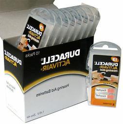 Duracell Activair Hearing Aid Batteries: Size 13   Fresh Exp