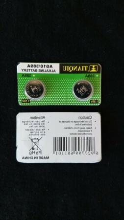 6x New AG10 LR1130 389 390 189 L1131 LR54 D389 Alkaline Butt