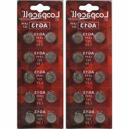 LOOPACELL AG13 LR44 L1154 357 A76 Batteries 20 Pack Health &
