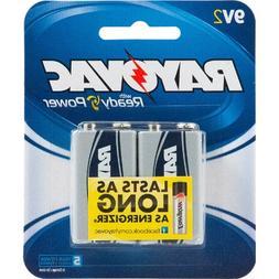 Alkaline 9Volts Battery 2 Pack
