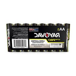 Rayovac Alkaline Battery Size Aa 8 Pack