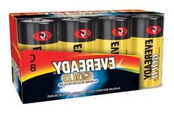 Alkaline C-8 Battery Family Packs