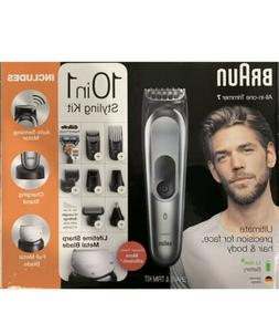Braun All-in-One Series 7 Trimmer 10-in-1 Kit Barber Clipper