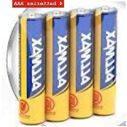 All-Powerful Alkaline Batteries - AAA  - Premium Grade, Long
