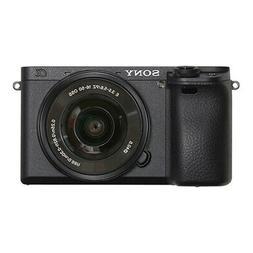 Sony Alpha a6400 Mirrorless Camera: Compact APS-C Interchang
