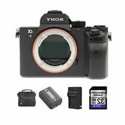 Sony Alpha a7RII Mirrorless Digital Camera + 2 Batteries, 32