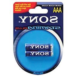 SONY S-AM4B2A STAMINA PLUS Alkaline Batteries