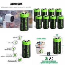 Arlo Batteries Rechargeable CR123A Lithium 3.7V 750Mah For C