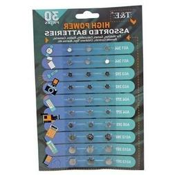 Assortment of Button Cell Batteries AG1 AG3 AG4 AG5 AG12 AG1