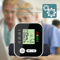 Automatic  Digital Blood Pressure Monitor Health Display Scr