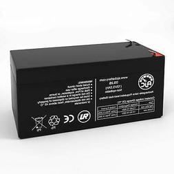 B&B BP3.6-12 12V 3.2Ah Sealed Lead Acid Replacement Battery