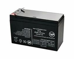AJC Battery Compatible with B&B HR1234W 12V 7Ah Sealed L