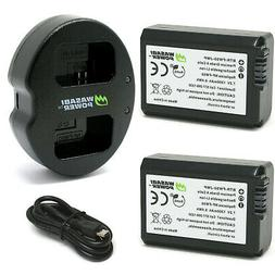 Wasabi Power Battery  and Dual Charger for Sony NP-FW50