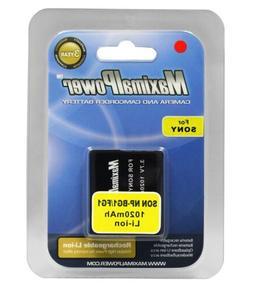 Battery-for Sony G-Type DSC-N1 W30 W50 W55 W70 W80, 1020mAh