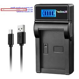 Kastar Battery LCD Charger for Sony NP-BN1 BC-CSN Sony Cyber