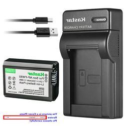 Kastar Battery Slim USB Charger for Sony NP-FW50 Sony NEX-5