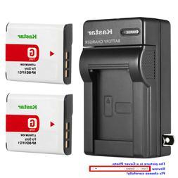 Kastar Battery Wall Charger for Sony NP-BG1 NPFG1 Sony Cyber