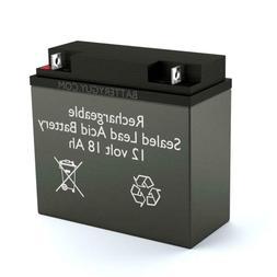 BatteryGuy BG-12180NB 12V 18ah Rechargeable SLA Battery
