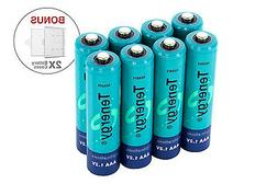 combo aaa nimh rechargeable batteries