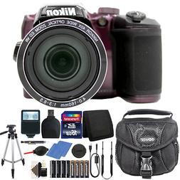 Nikon Coolpix B500 16MP Digital Camera with Extra Batteries