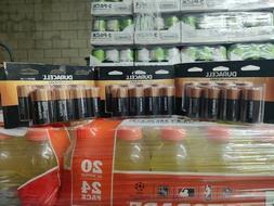 Duracell Coppertop Alkaline D Batteries,  3 Pack Of 8 Batter