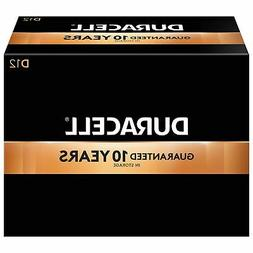 Duracell Coppertop D Alkaline Batteries 12/Pack  2767340