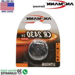 Ansmann CR 2430 3v. Lithium Button / Coin Cell Battery - Exp