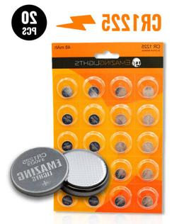 EmazingLights CR1225 Batteries  3v Button Cell Lithium Batte