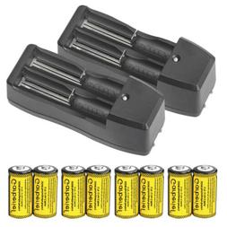 CR123A 16340 3.7V Li-Ion Rechargeable Battery for Torch Lase