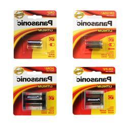 Panasonic CR123A / CR2 / CR-P2 / 2CR5 Lithium Batteries  - F