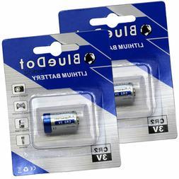 2 x CR2 Universal 3V 750mAh Lithium TITAN Battery for Digita