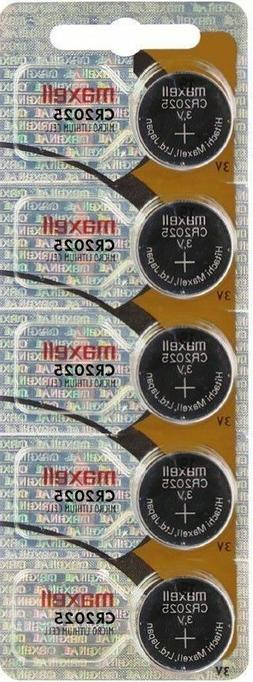 cr2025 lithium coin cell batteries
