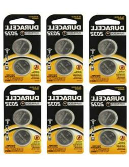Duracell CR2032 Lithium Batteries 3 Volt DL2032 2032 ~ 12 Co
