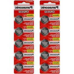 panasonic cr2032 3v lithium battery x 5pcs single use batter