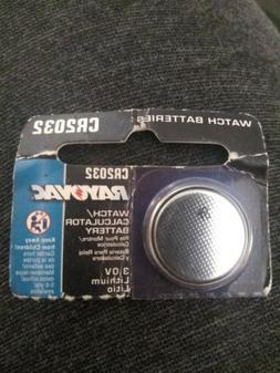 Rayovac Cr2032 Watch/Calculator Batteries