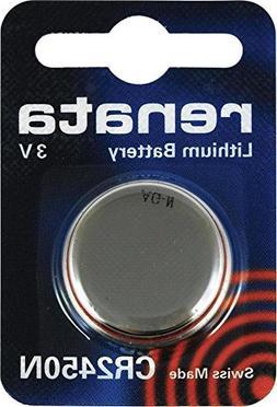 Renata CR2450N Box of Ten Lithium 3 Volt Batteries